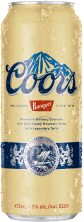 Coors Banquet Lager 473 ml
